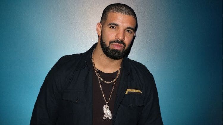 Rapper Drake introduced his son to the world