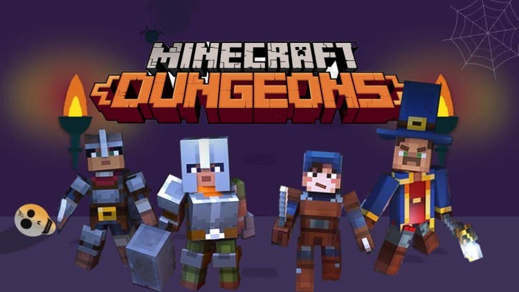 Minecraft Dungeons' Diablo Hook Unleashing Angry Cows