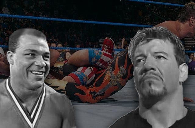 Eddie Guerrero Forgets Kurt Angle Is A Gold Medalist DKODING