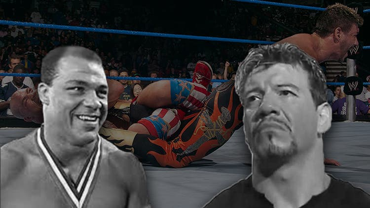 WWE Memory Lane — When Eddie Guerrero Forgot Kurt Angle Is An Olympic Gold Medalist