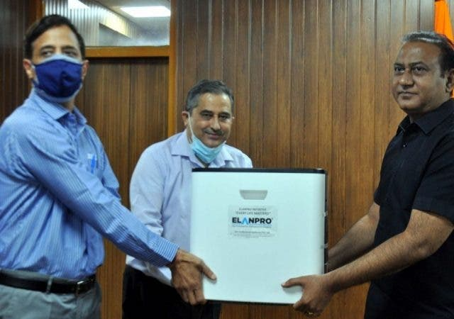 Elanpro Extends its Support to Gurugram Police Departments by Offering Oxygen Concentrators
