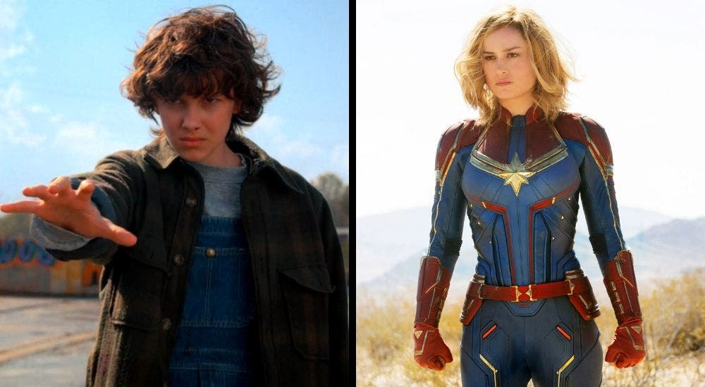Eleven And Captain Marvel DKODING