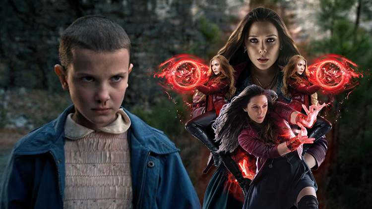 Surprise! Eleven In Stranger Things Is The Younger Sister Of Wanda From WandaVision