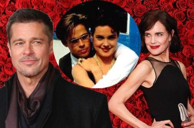 Elizabeth McGovern and Brad Pitt DKODING