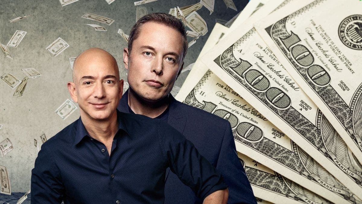 Money Flows If You Land A Job With Either Musk Or Bezos — But One Pays More