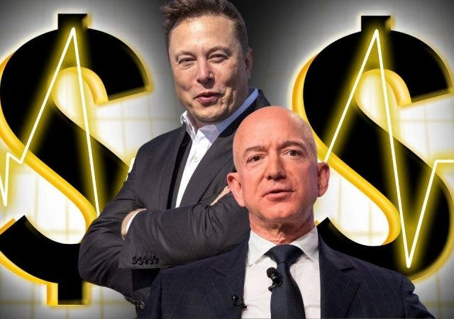 Elon Musk's Wealth Neck-And-Neck With Bezos Again- Race Resumes!