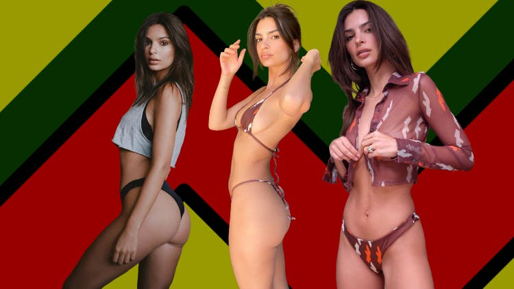 HOT DAMN! Emily Ratajkowski Looks Steamy In A Barely-There Bikini