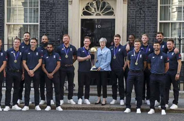 England-Cricket-Team-With-Prime-Minister-Theresa-May-CWC19-Celebrations-Downing-Street-Cricket-Sports-DKODING