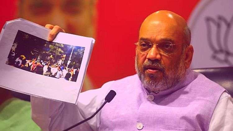 Escaped-Safely-Only-Because-CRPF-Was-There-Amit-Shah-On-Kolkata-Violence-India-politics-DKODING