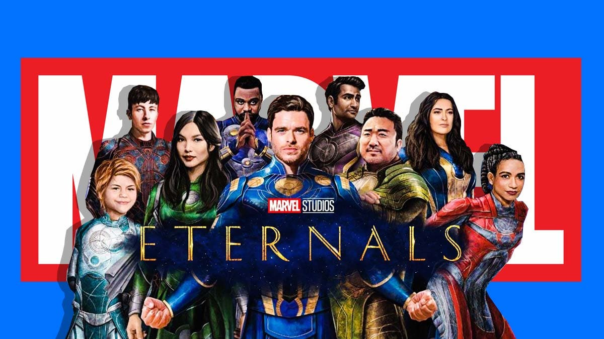 Marvel made this 'Eternals' star cry after casting her
