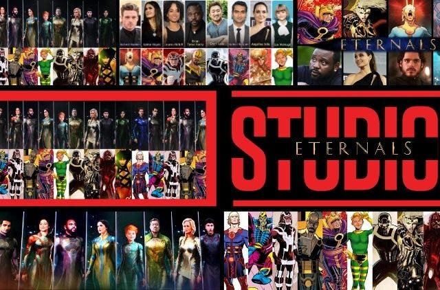 Marvels The Eternals Comic Con
