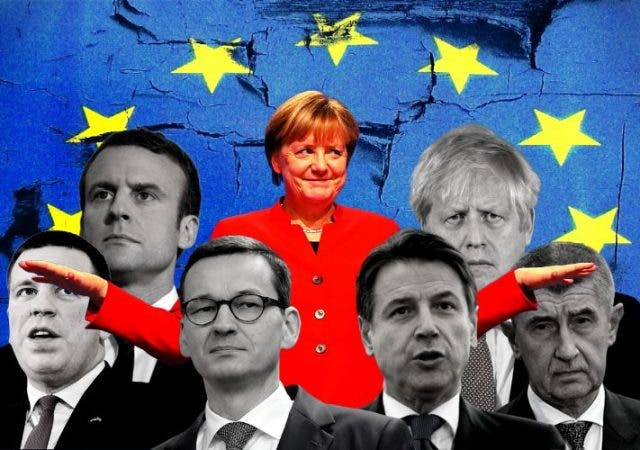 European Union Emerging Fault Lines