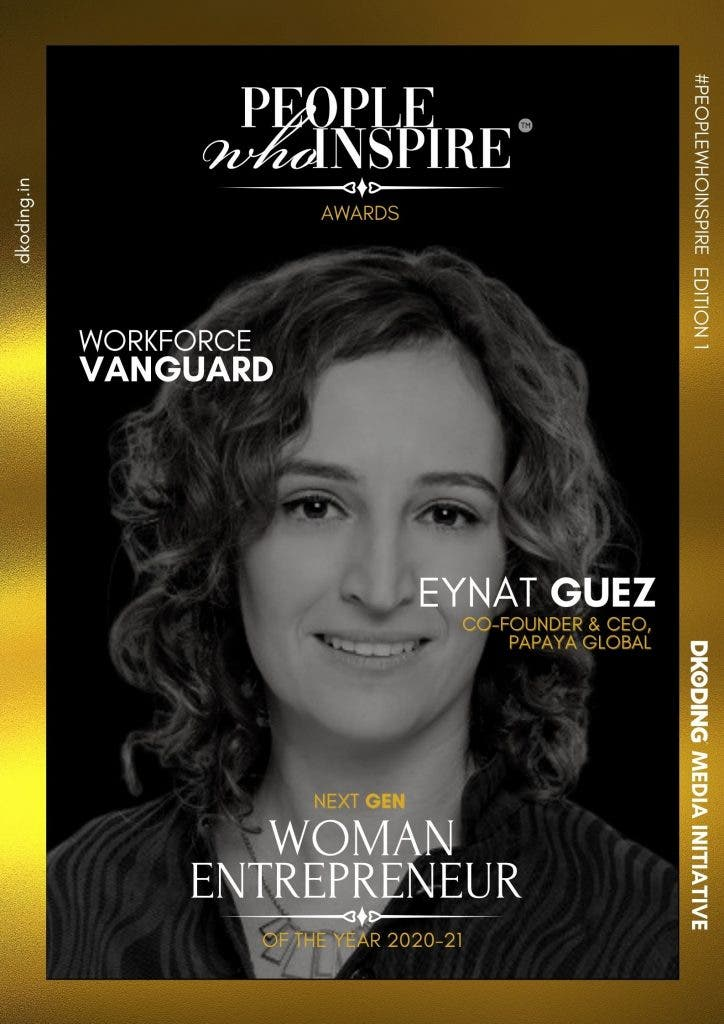 Eynat Guez People Who Inspire PWI Woman Entrepreneur of the Year Award 2020-21