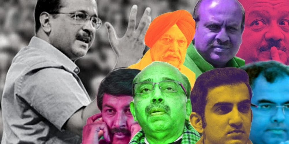 Multiple Faces Yet Faceless — Clueless BJP Set To Go Seatless In Delhi