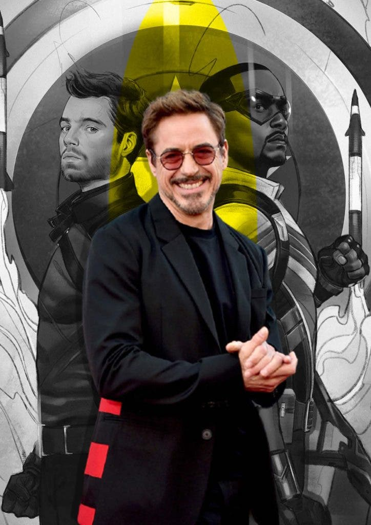 Falcon and the Winter Soldier spreads hate for Tony Stark