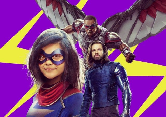 Ms Marvel Falcon And The Winter Soldier
