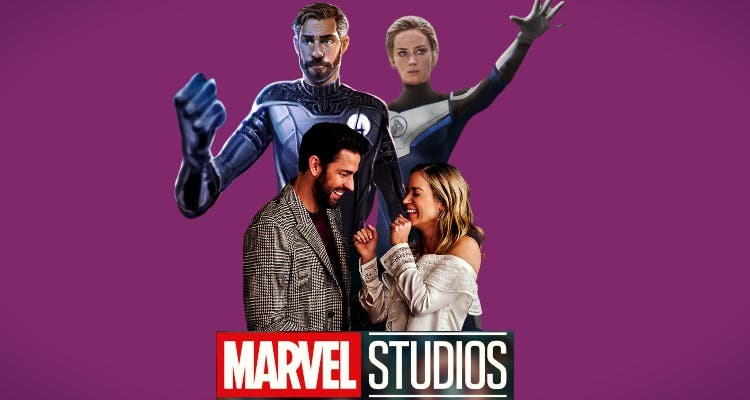 John Krasinski And Emily Blunt: Marvel's First Fantastic Couple