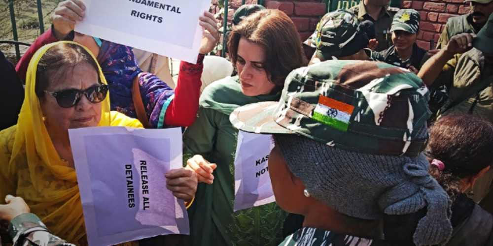 Farooq Abdullahs Daughter Sister Detained During Protest India DKODING
