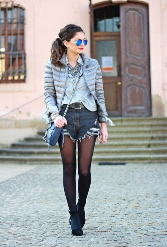 Fashion-Myths-Busted-Shorts-In-Winter-Fashion-And-Beauty-Lifestyle-DKODING