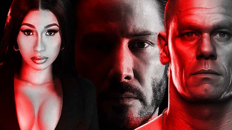 Keanu+Cena+Cardi B = Fast and Furious 9 (Pure Adrenaline for Action Junkies)