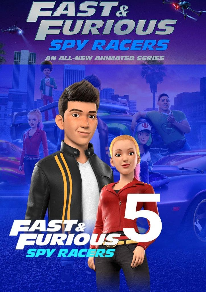 Tony's missing on 'Fast and Furious: Spy Racers' Season 5