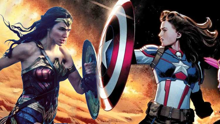 Female Captain America Vs Wonder Woman DKODING