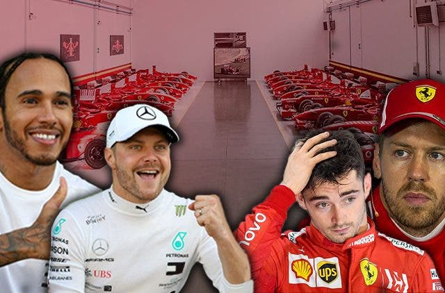 Ferrari Lockdown Means Advantage Mercedes DKODING