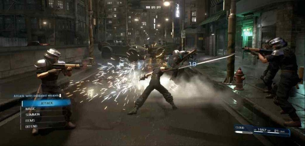 DKODING | Newsshot | Final Fantasy 7 Remake Gameplay with a different storyline | Image Credits: Gameranx