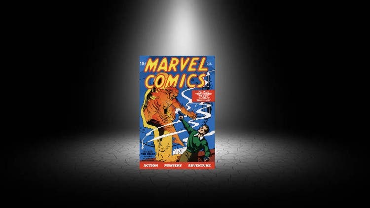First-ever Marvel comic sold for record 1.26 USD