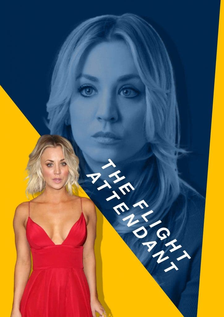 Kaley Cuoco begged her 'The Flight Attendant' co-star to join the show