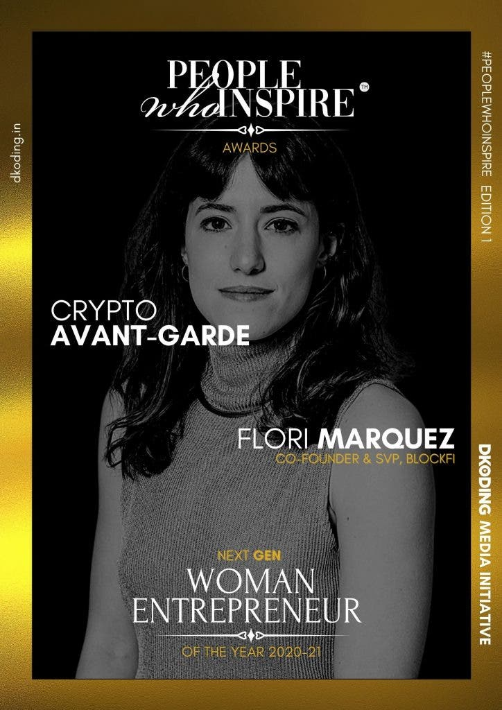Flori Marquez People Who Inspire PWI Woman Entrepreneur of the Year Award 2020-21