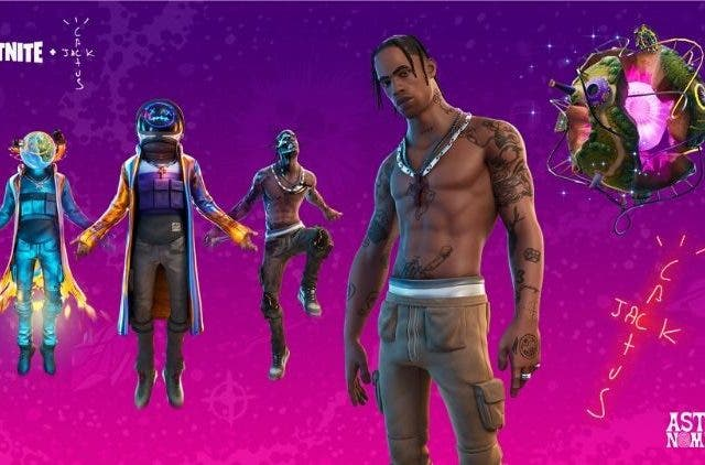 Travis Scott Astronomical Fortnite