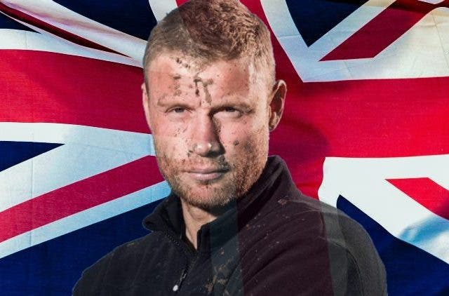 Freddie Flintoff Top Gear Superhero
