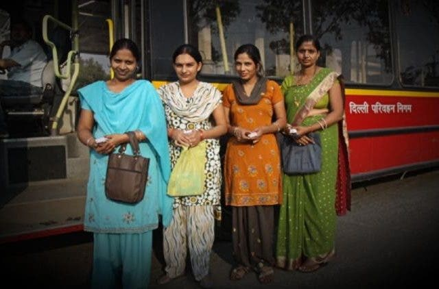 Free Rides Bus Delhi Women More DKODING
