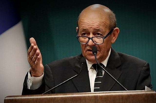 French-Foreign-Minister-Jean-Yves-Le-Drian-Kashmir-India-Pakistan-DKODING