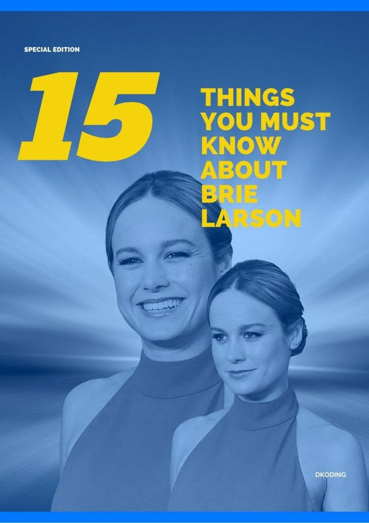 15 Frequently Asked Questions about Brie Larson