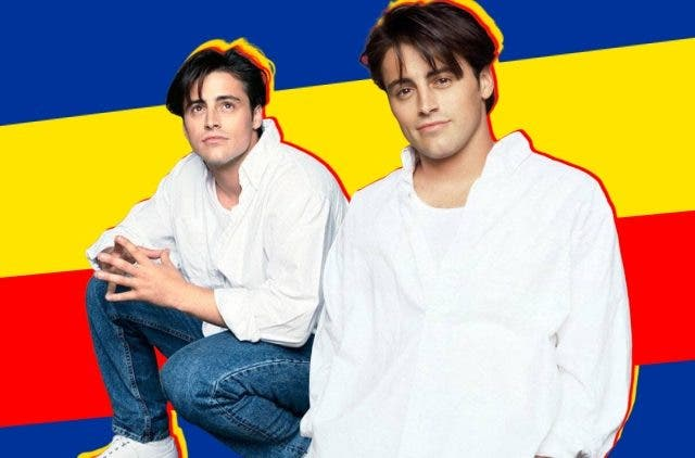 Friends Joey Matt LeBlanc birthday 53 DKODING