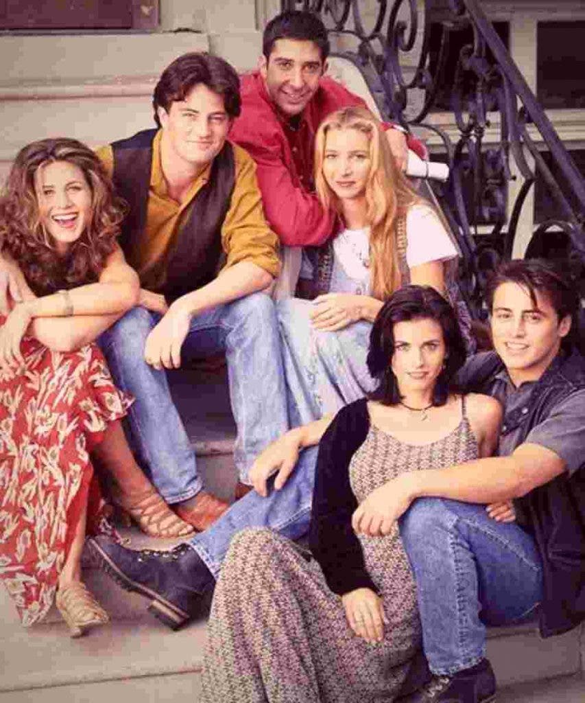 Phoebe  Mike Rachel and Ross DKODING