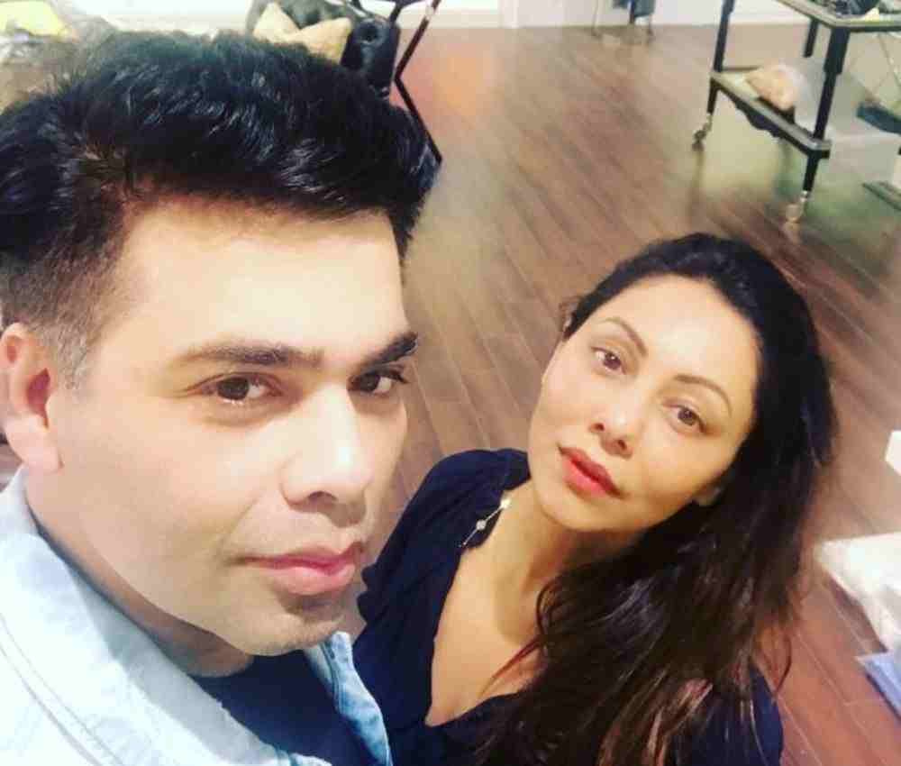 Gauri Khan and Karan Johar DKODING