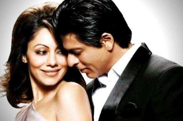 Gauri Khan and Shahrukh khan Bollywood DKODING