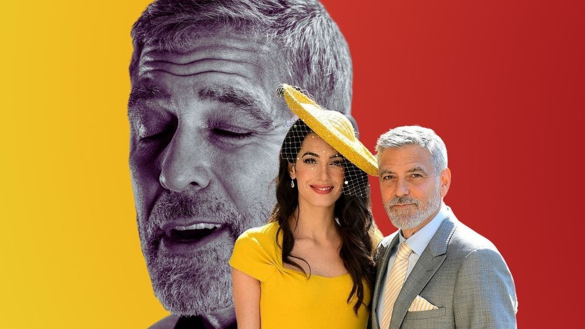 George Clooney is bored of his perfect marriage, takes a break with friends