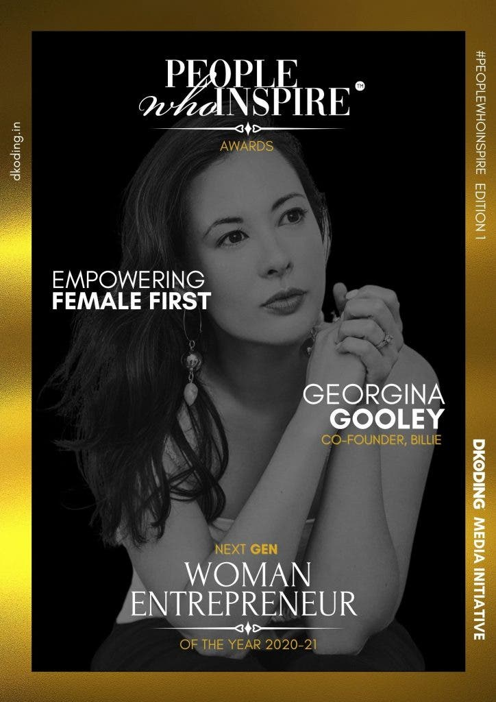 Georgina Gooley People Who Inspire PWI Woman Entrepreneur of the Year Award 2020-21