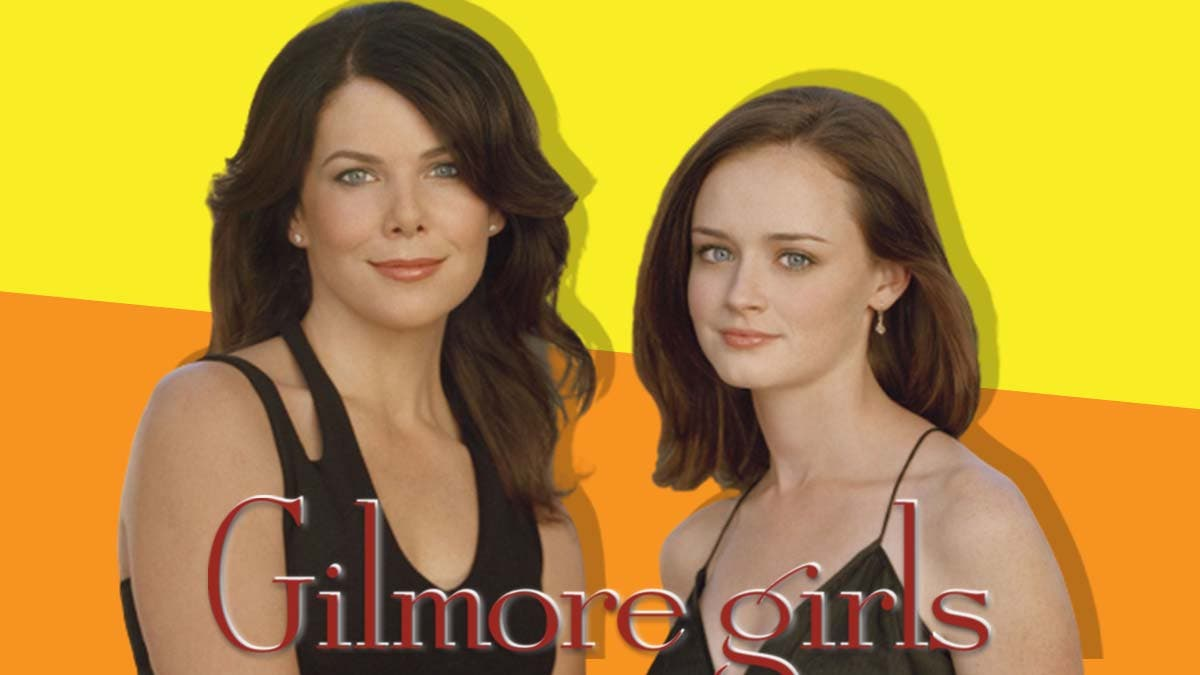 Gilmore Girls Lorelai and Rory