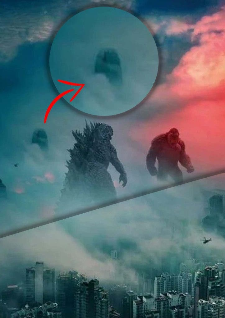 Have You Noticed The Third Monster on the Godzilla vs The Kong Poster
