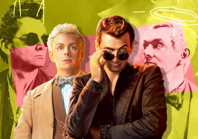 'Good Omens' made it to the headlines -- But not for what you think