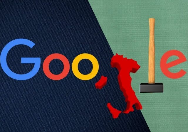Google Under European Antitrust Hammer Again As Italy Slaps $123 Million Fine