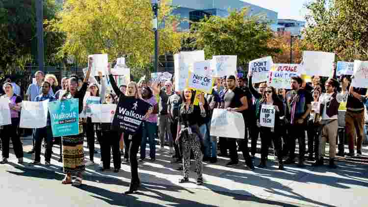 Google-Employees-Faced-Retaliation-For-Walkout-Business-Companies-DKODING