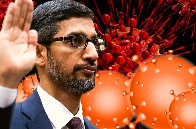 Sundar Pichai CEO Google Pledges $800+ Million To Support Global Covid-19 Pandemic Crises