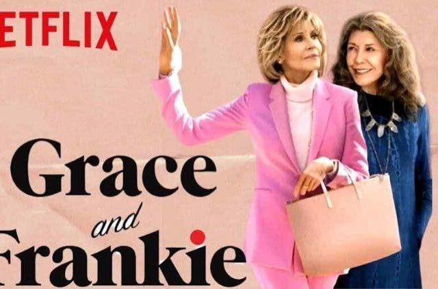 Grace and Frankie Netflix Record