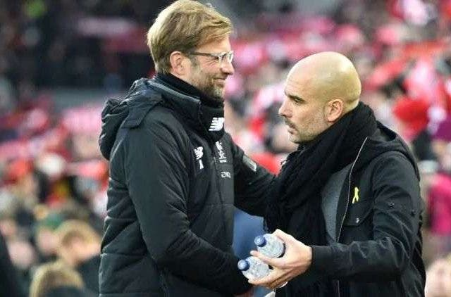 Guardiola Klopp Football Sports DKODING